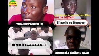 Zapping de la Semaine , il insulte un Marabout , Un lutteur hors pair, Moustapha diakhate arrêté