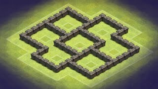 Clash of Clans | Town Hall 4 Trophy Base | TH4 | TH 4