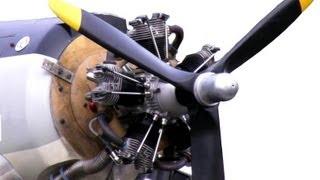 getlinkyoutube.com-RC Radial Motor Awsome Sound!