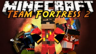 Minecraft Mini-Game : Team Fortress 2!