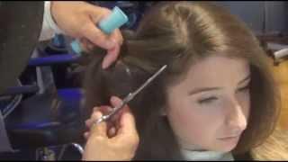 getlinkyoutube.com-Mogi Hair:Haircut How to cut long  Fringe hair