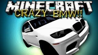 getlinkyoutube.com-Minecraft Mods - CRAZY BMW MOD!!!