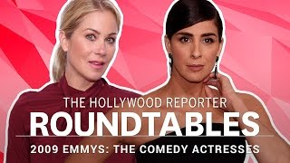 getlinkyoutube.com-Sarah Silverman, Amy Poehler and Christina Applegate on Aging - THR's Drama Actress Roundtable