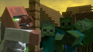 getlinkyoutube.com-Annoying Villagers 3 - Minecraft Animation