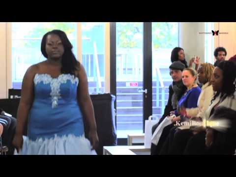 Butterflymodels - The Mahogany Bridal Show 2012