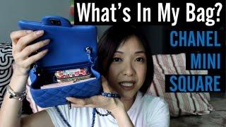 getlinkyoutube.com-What's In My Bag | Chanel Mini Square