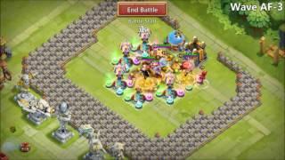 Castle Clash - New Base for HBM AF plus Extra...032017