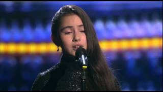 getlinkyoutube.com-'Non, je ne regrette rien'(Edith Piaf).Saida.The Voice Kids Russia 2015.Finale.