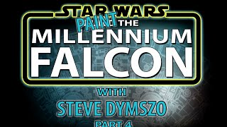 getlinkyoutube.com-Part 4 - Painting the De Agostini Millennium Falcon Scale Model with Steve Dymszo