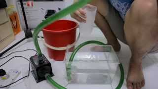 How to: Prime an External Water Pump
