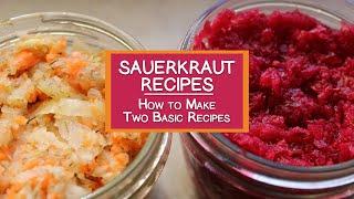 getlinkyoutube.com-Sauerkraut Recipes, Tips on How to Make Sauerkraut with Two Basic Recipes