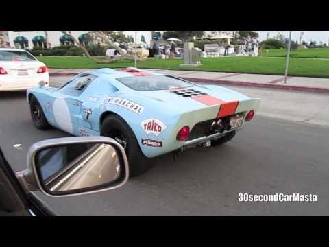 Blue Superformance Ford GT40 Gulf Small Accelerate