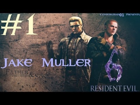 Resident Evil 6 Walkthrough - Jake Muller Part 1 - Chapter 1 - I'm Special