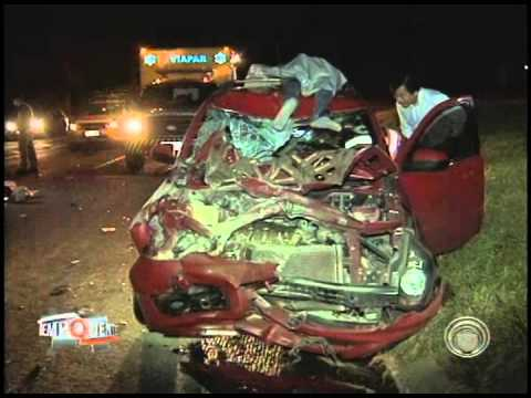 Polícia divulga registros dos acidentes nesse feriado de Páscoa (21/04)