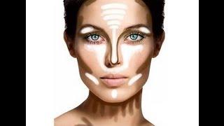 getlinkyoutube.com-COMO CONTORNEAR EL ROSTRO | Chana Beauty