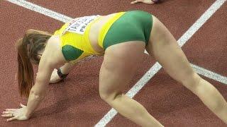 getlinkyoutube.com-Sonata Tamosaityte, Gorgeous Lithuanian female sprint hurdlers' start from her top