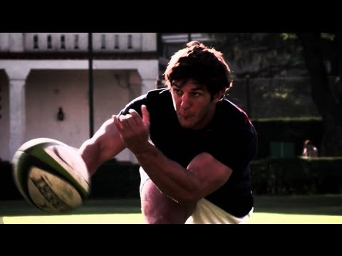 Slow Motion Rugby Training w/ Tomas Cubelli - Red Bull Moments 2013