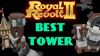 getlinkyoutube.com-ROYAL REVOLT 2 - THE BEST TOWER (BIG test!)