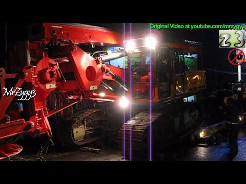 Loading Sany SR150C On Scania P420 Heavy Haul Truck