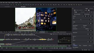 Day to Night conversion in BlackMagic fusion 8