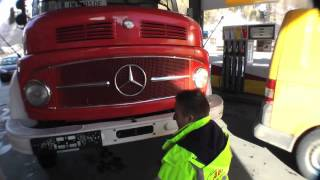 getlinkyoutube.com-Die erste Probefahrt mitm Feuerwehrauto