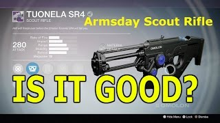 getlinkyoutube.com-Destiny: Tuonela SR4 - Armsday Scout Rifle (Is It Good?)#68 - PVP Gameplay & Review