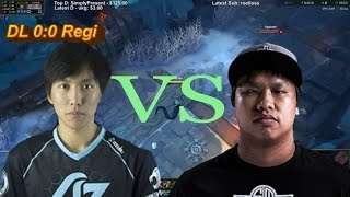 Doublelift vs Reginald (League of Legends 1v1)