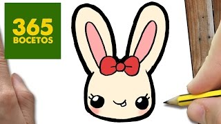 getlinkyoutube.com-COMO DIBUJAR CONEJITA KAWAII PASO A PASO - Dibujos kawaii faciles - How to draw a Rabit