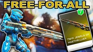 Twin Jewels of Maethrillian Only - Free-For-All - Halo 5 Guardians
