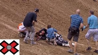 getlinkyoutube.com-MOTO X AND SNOWMOBILE CRASHES COMPILATION ON X GAMES and X Fighters