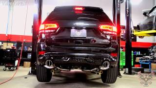getlinkyoutube.com-Jeep Grand Cherokee SRT8 | GTHAUS Meisterschaft GTC Roar Racing Series Exhaust