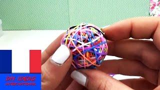 getlinkyoutube.com-Balle rebondissante Rainbow Loom  balle rebondissante en crazy looms DIY  tuto balle à faire soi mêm