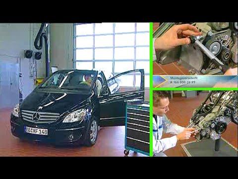 Mercedes Benz | Gerausche am Riementrieb OM640