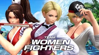 getlinkyoutube.com-Team Women Fighters | Complete Story Mode Walkthrough - The King of Fighters XIV [English, Full HD]