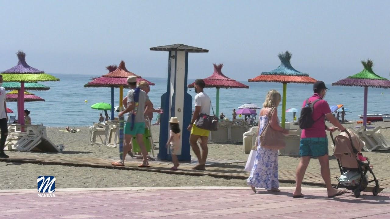 Las playas de Manilva presentan un estado óptimo