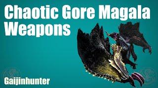 getlinkyoutube.com-MH4G/MH4U: Chaotic Magala Weapons