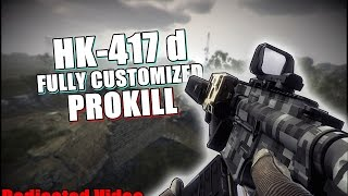 getlinkyoutube.com-Contract Wars - HK417d Full Customized PROKILL (Dedicated video)