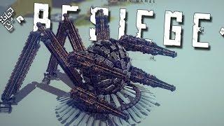 getlinkyoutube.com-SPACE SPIDER/CRAB? | Besiege #SIXTYFOOOOUR! OH MY GOOOOD!!!!!!!