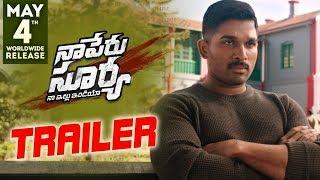 Naa Peru Surya Naa Illu India Theatrical Trailer    Allu Arjun, Anu Emmanuel, Vakkantham Vamsi