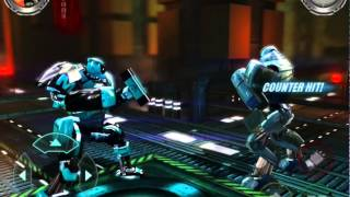 getlinkyoutube.com-Real Steel Champions | FREE SPARRING | Metro VS SPARRING BOT NEW ROBOTS GAME (Живая Сталь)
