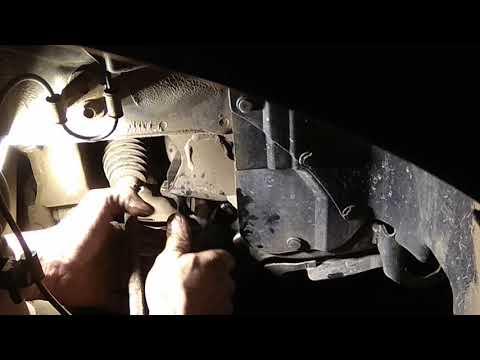 Замена втулок стабилизатора Subaru