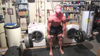 getlinkyoutube.com-750 lbs x 2 Deadlift, 575x15 deadlift, 600 lb. pause squat