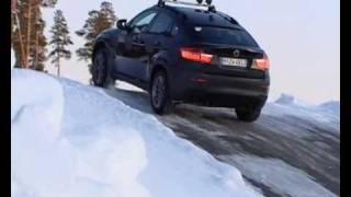 getlinkyoutube.com-► BMW X6 and X5 - Testing snow (2009)