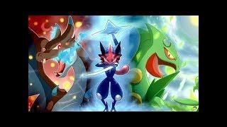 Ash Greninja evelotion (THEME SONG) Pokémon XY/XYZ