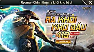 Ryoma rời khỏi Kho Báu! Vị tướng Shock Dame kinh khủng! Build đồ và ngọc? Cách combo skill như nào!