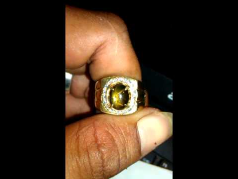 Black safir golden star