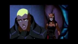 getlinkyoutube.com-Miss Martian Knows & Aquaman inform Nightwing the reach went public