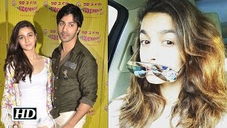 Alia starts shooting for 'Badrinath Ki Dulhania' with Varun