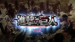 Attack on Titan Segunda Temporada - Abertura [HD]