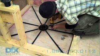 getlinkyoutube.com-Shower Pan Install Dix Step 1 Floor Prep, Pre-Pitch, Mortar Installation. Dix Systems How-To